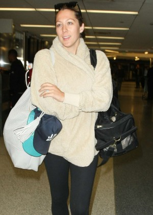 Colbie Caillat at LAX Airport in Los Angeles