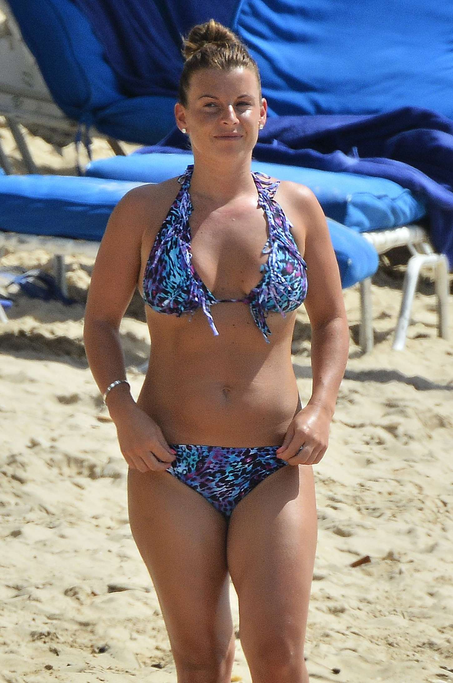Pictures Of Kai Rooney, Coleen Rooney In A Green Bikini And Shirtless Wayne Rooney In Barbados On Holiday