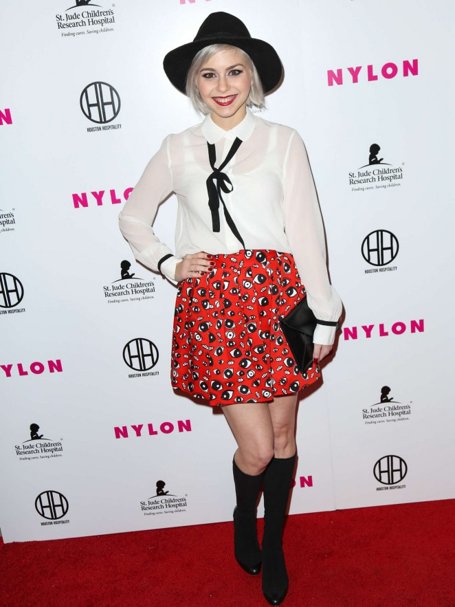 Colette Carr – NYLON Magazine's Muses And Music Party in LA