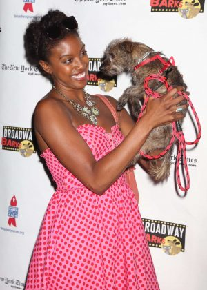 Condola Rashad - 19th Annual Broadway Barks Animal Adoption Event in NY