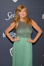 Connie Britton - 2020 InStyle and Warner Bros Golden Globes Party in Beverly Hills