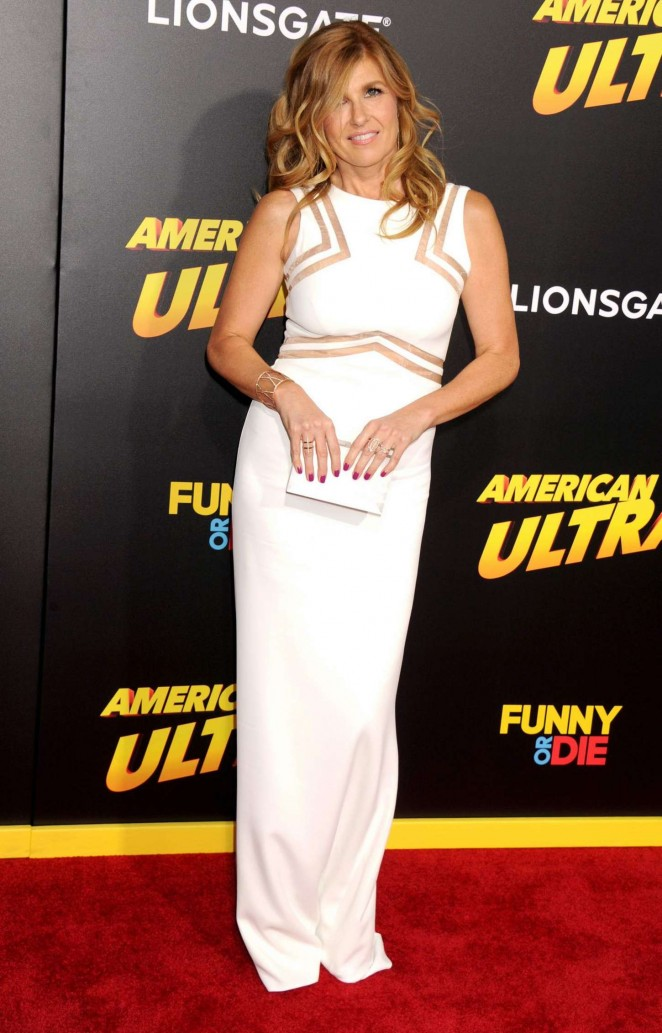 Connie Britton - 'American Ultra' Premiere in LA