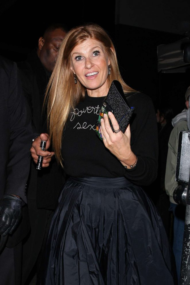 Connie Britton at the Poppy Club in West Hollywood