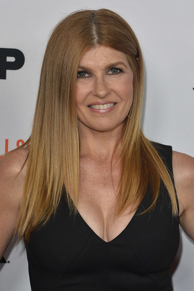 Connie Britton - 'The People v. OJ Simpson' Finale in Los Angeles