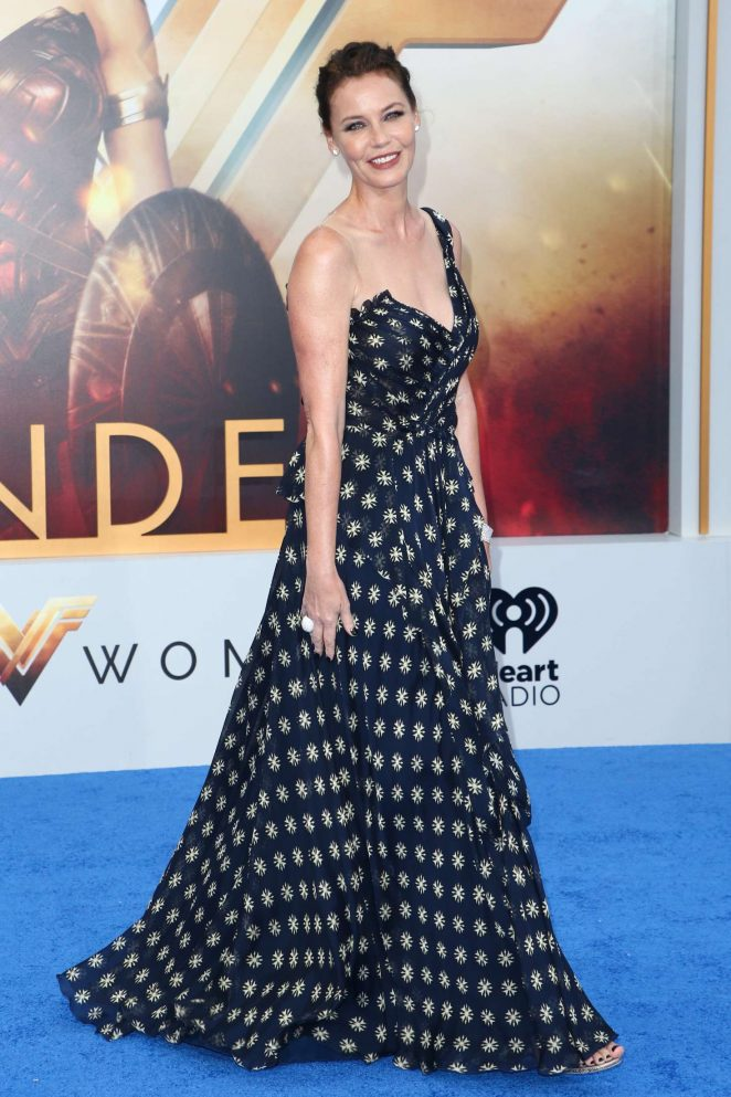 Connie Nielsen - 'Wonder Woman' Premiere in Los Angeles