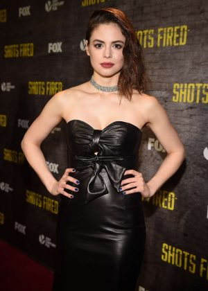 Conor Leslie - 'Shots Fired' TV Series Premiere in Los Angeles