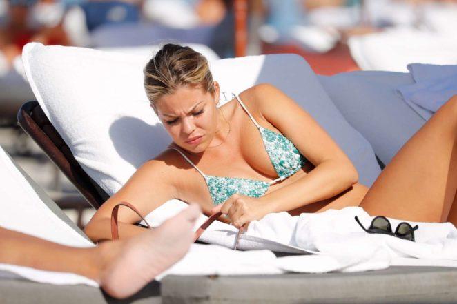Constance Caracciolo 2017 : Constance Caracciolo in Bikini Sunbathing -09