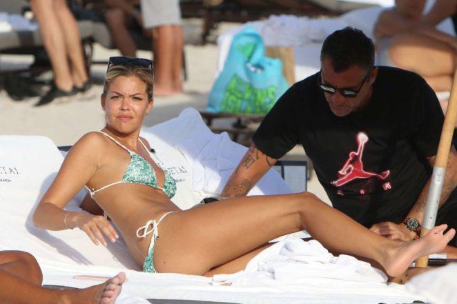 Constance Caracciolo 2017 : Constance Caracciolo in Bikini Sunbathing -22