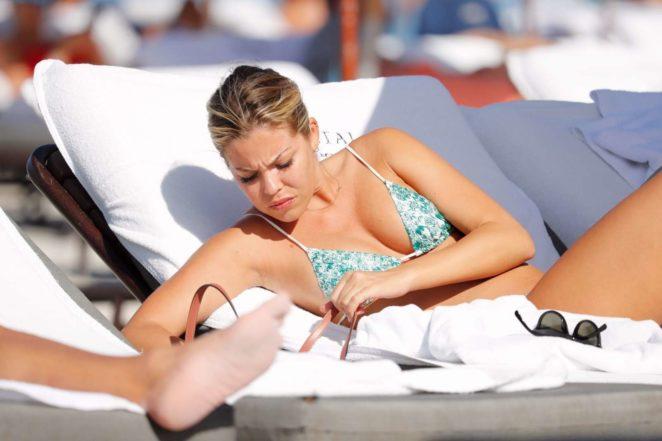 Constance Caracciolo 2017 : Constance Caracciolo in Bikini Sunbathing -26