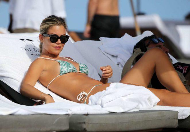 Constance Caracciolo 2017 : Constance Caracciolo in Bikini Sunbathing -28