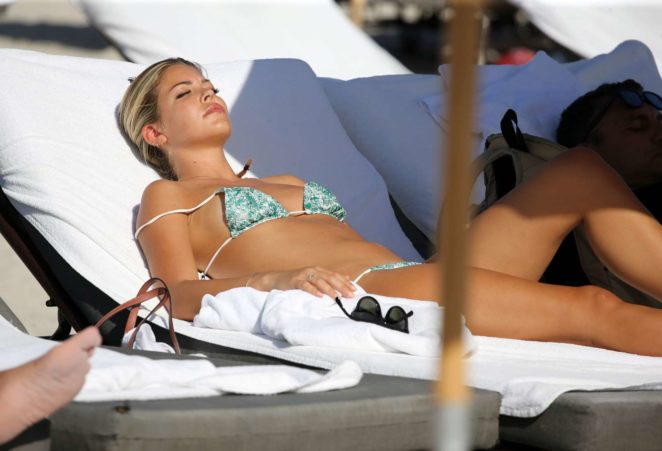 Constance Caracciolo 2017 : Constance Caracciolo in Bikini Sunbathing -35