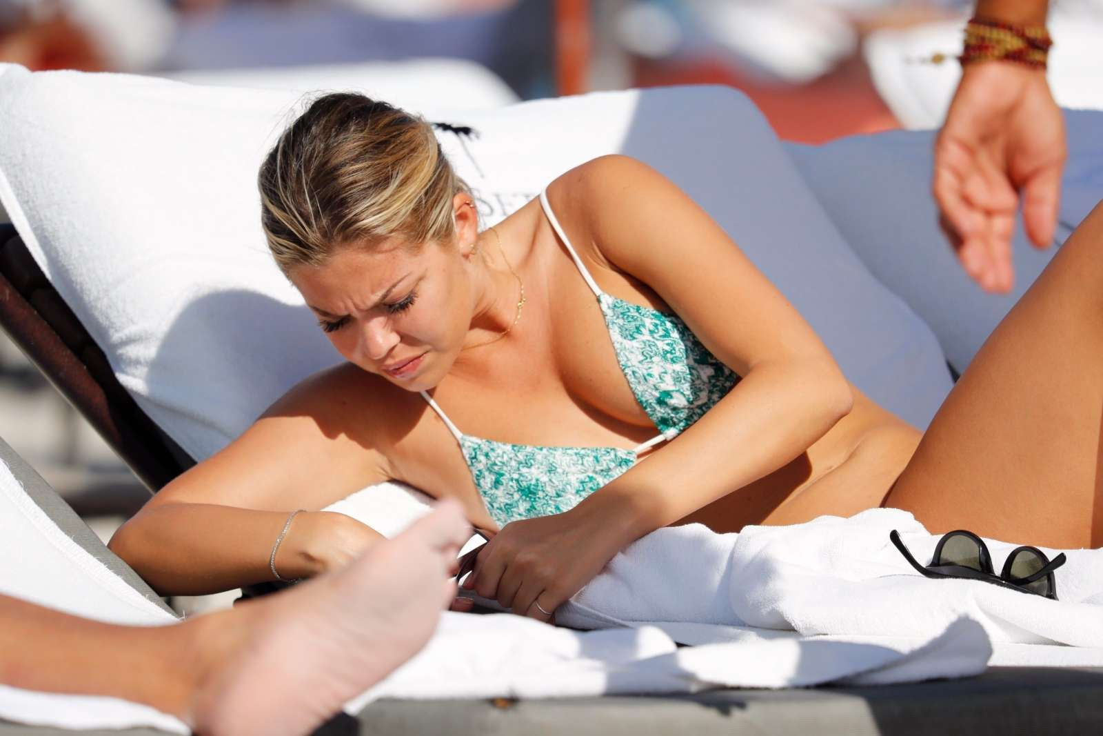Constance Caracciolo 2017 : Constance Caracciolo in Bikini Sunbathing -41
