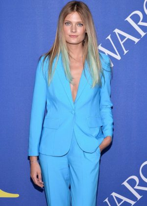Constance Jablonski - 2018 CFDA Fashion Awards in Brooklyn