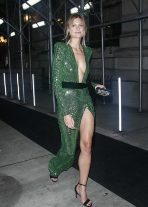Constance Jablonski - Arrives at Harper's Bazaar ICONS Party in New York