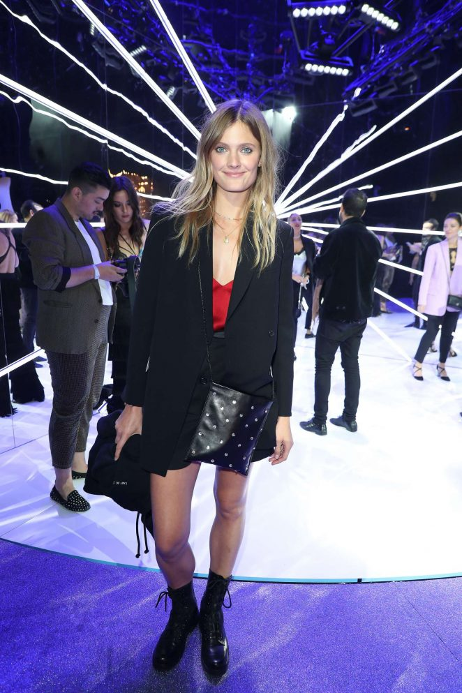 Constance Jablonski - Etam Fashion Show in Paris