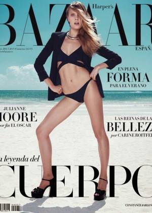Constance Jablonski - Harper's Bazaar Spain Cover (May 2015)