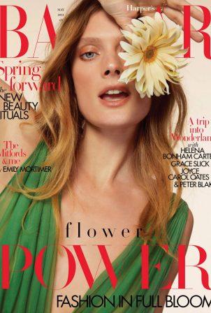 Constance Jablonski - Harper's Bazaar (UK - May 2021)