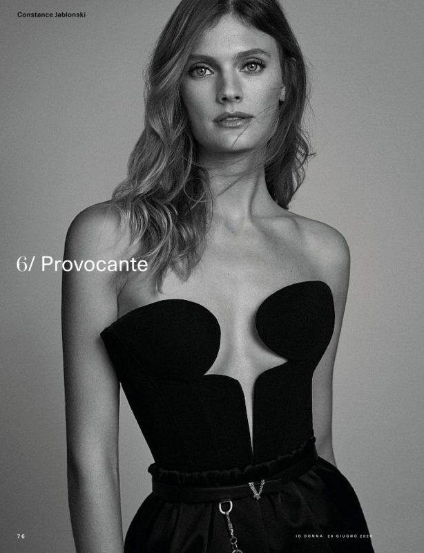 Constance Jablonski - Io Donna del Corriere della Sera (June 2020)