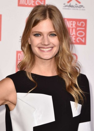 Constance Jablonski - Sidaction Gala Dinner 2015 in Paris