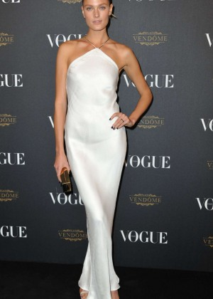 Constance Jablonski - Vogue 95th Anniversary Party in Paris