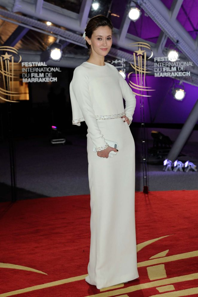 Constance Rousseau - 16th Marrakech Film Festival Closing Ceremony in Morocco