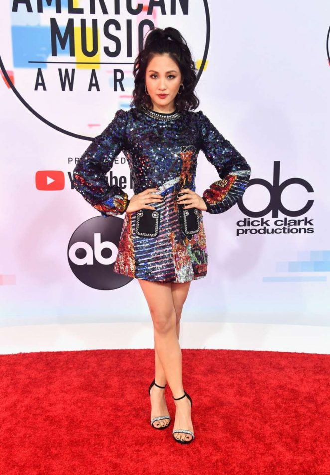 Constance Wu - 2018 American Music Awards in Los Angeles