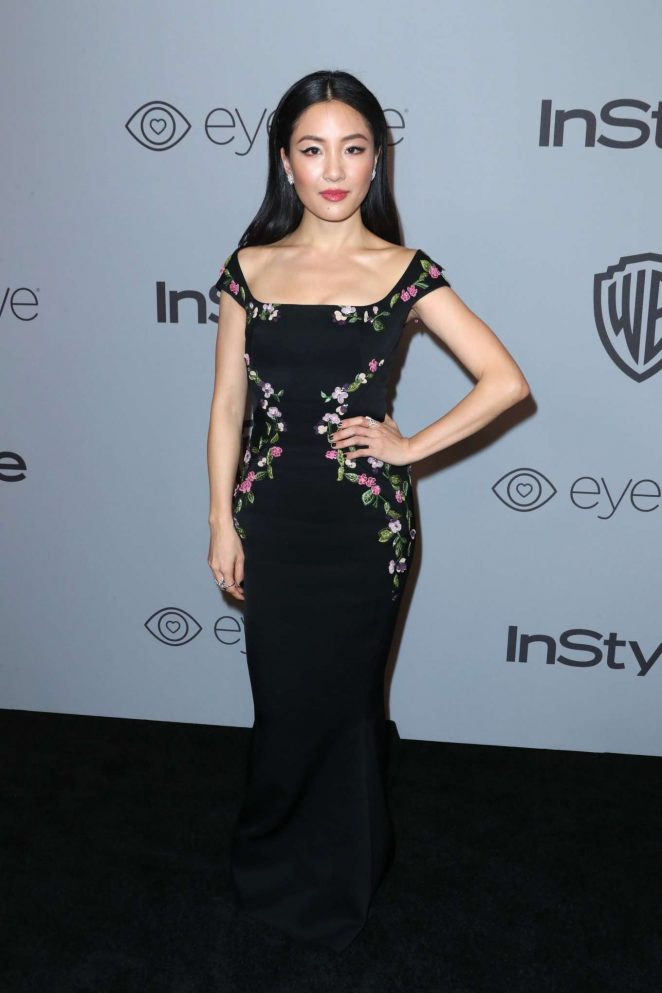 Constance Wu - 2018 InStyle and Warner Bros Golden Globes After Party in LA