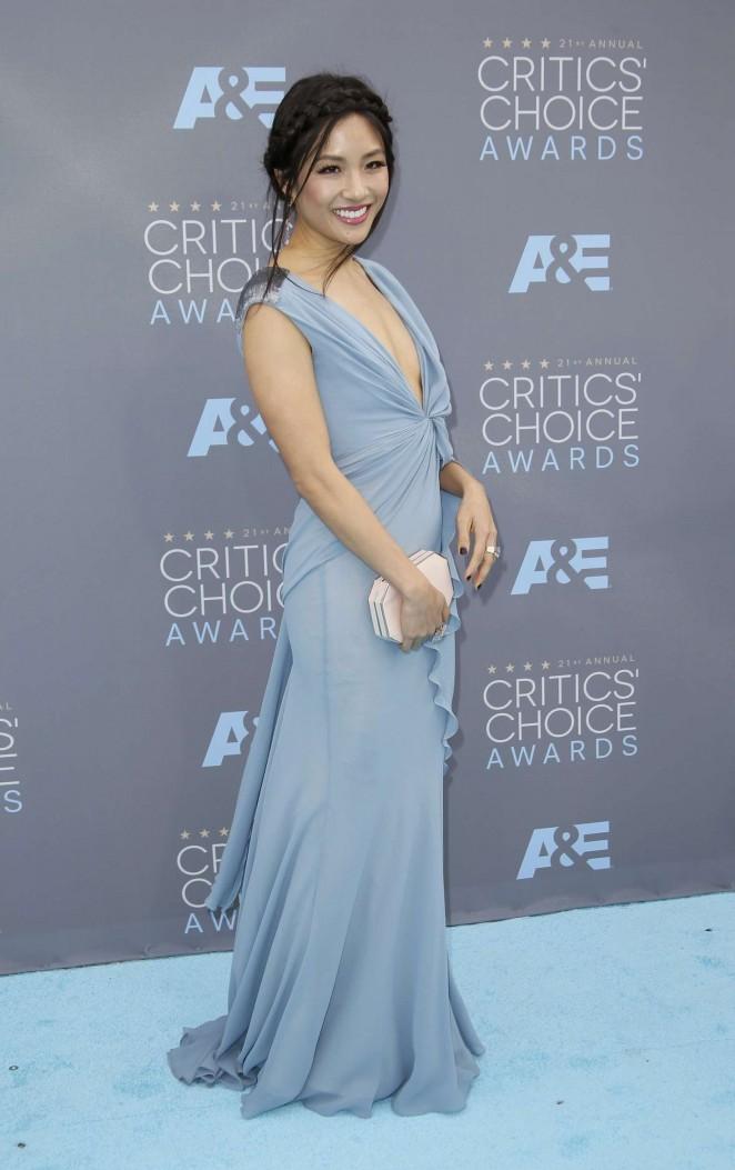 Constance Wu - 2016 Critics Choice Awards in Santa Monica