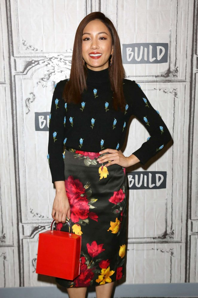 Constance Wu at AOL Build Speaker Series in New York