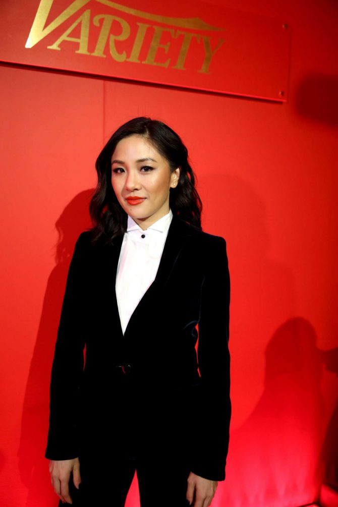 Constance Wu - Variety x Armani Makeup Artistry Dinner in Los Angeles