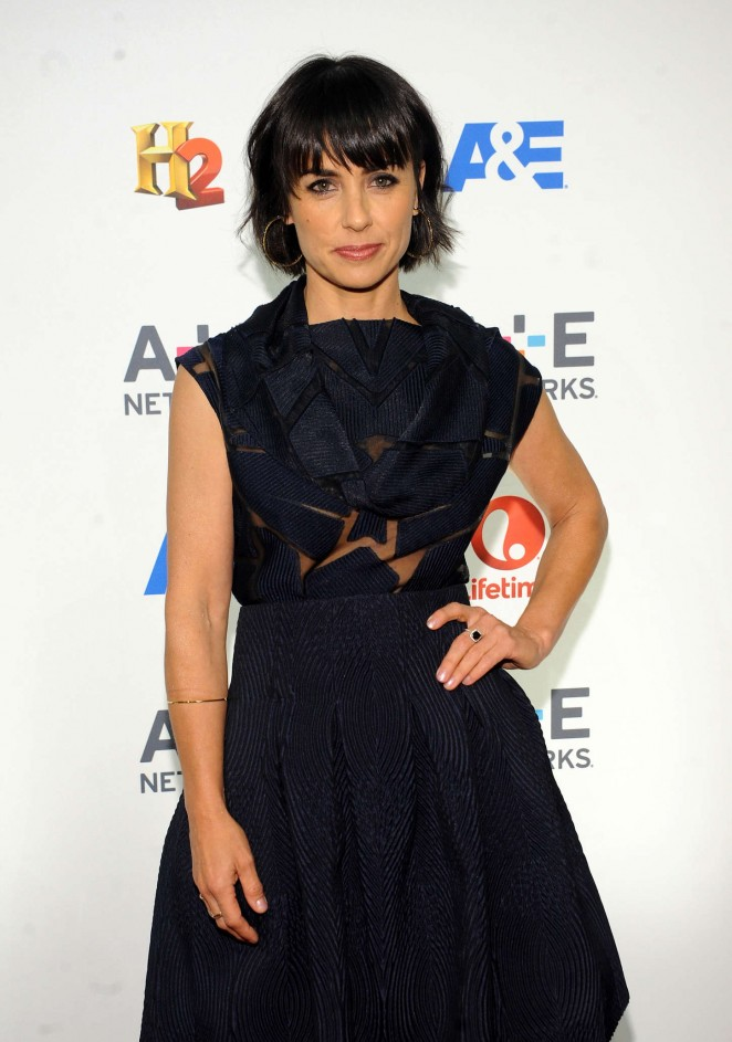 Constance Zimmer - 2015 A&E/Lifetime Networks Upfront in NY