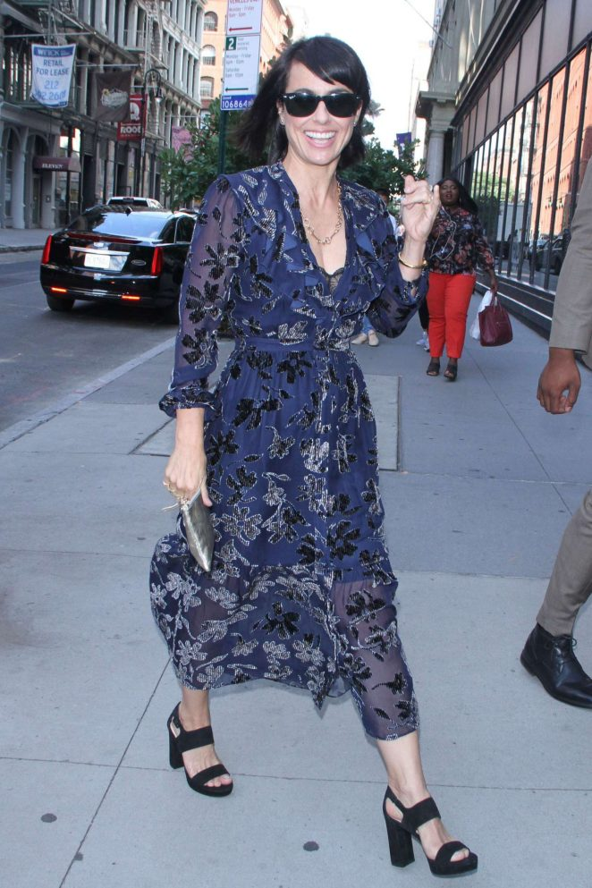 Constance Zimmer - Arrives at AOL Build Speaker Series in New York