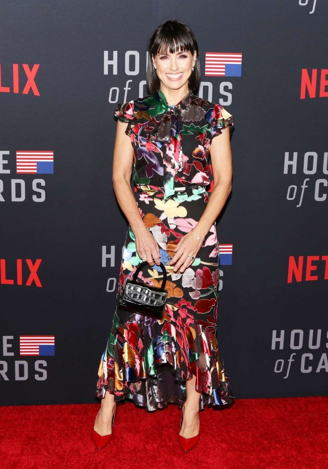 Constance Zimmer - 'House of Cards' Premiere in Los Angeles