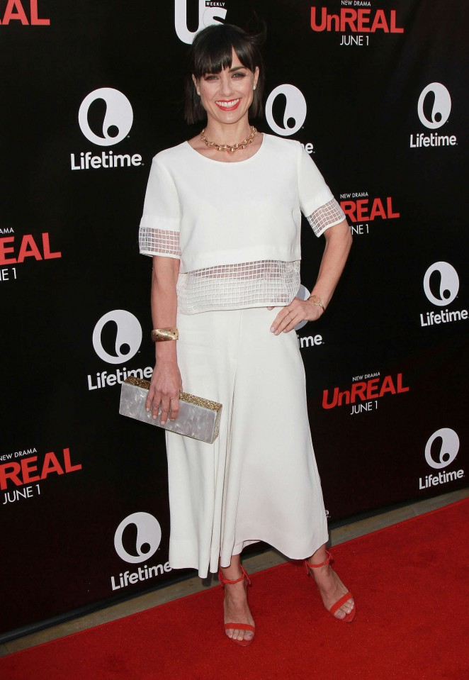 Constance Zimmer - Lifetime and Us Weekly's Premiere Party for UnReal in Beverly Hills