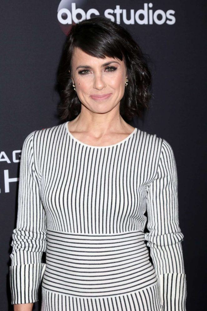 Constance Zimmer - 'Marvel's Agents of S.H.I.E.L.D.' 100th episode celebration in Hollywood