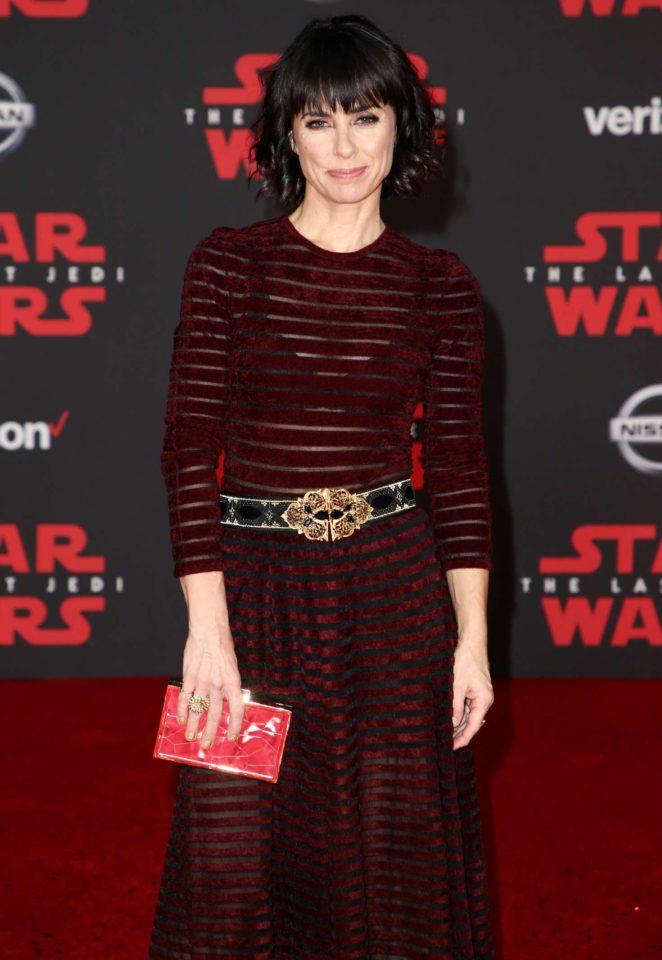 Constance Zimmer - 'Star Wars: The Last Jedi' Premiere in Los Angeles