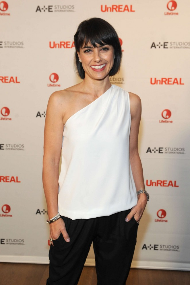 Constance Zimmer - UnREAL International Press Event in NYC