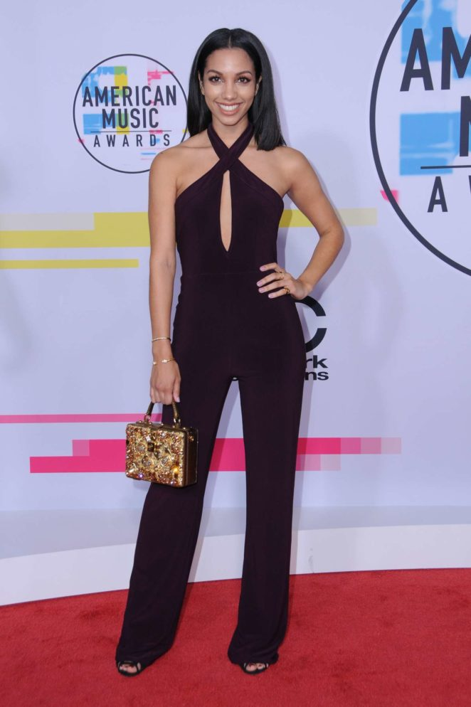 Corinne Foxx - 2017 American Music Awards in Los Angeles