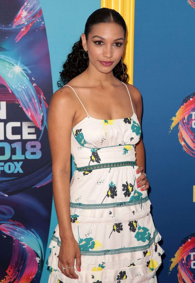 Corinne Foxx - 2018 Teen Choice Awards in Inglewood