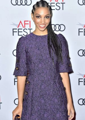 Corinne Foxx - 'On the Basis of Sex' Premiere - 2018 AFI Fest in Los Angeles