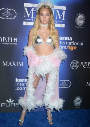 Corinne Olympios - 2017 Maxim Halloween Party in Los Angeles