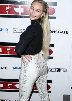 Corinne Olympios - 'The Kid' Premiere in Hollywood