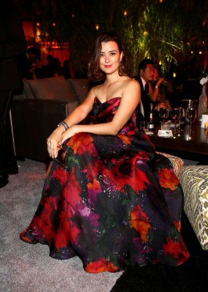 Cote de Pablo - The Weinstein Company & Netflix's Golden Globes Party 2015 in Beverly Hills