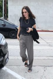 Courteney Cox - Arrives at Craig's Restaurant in West Hollywood