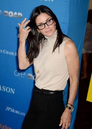Courteney Cox - 'Gleason' Premiere in Los Angeles