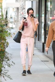 Courteney Cox - Heads to a nail salon in Beverly Hills