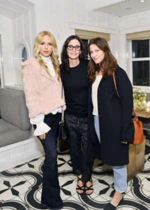 Courteney Cox - Jenni Kayne Home Collection Launch in Malibu