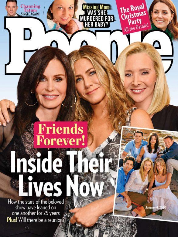 Courteney Cox, Jennifer Aniston and Lisa Kudrow - People Cover Magazine (January 2020)