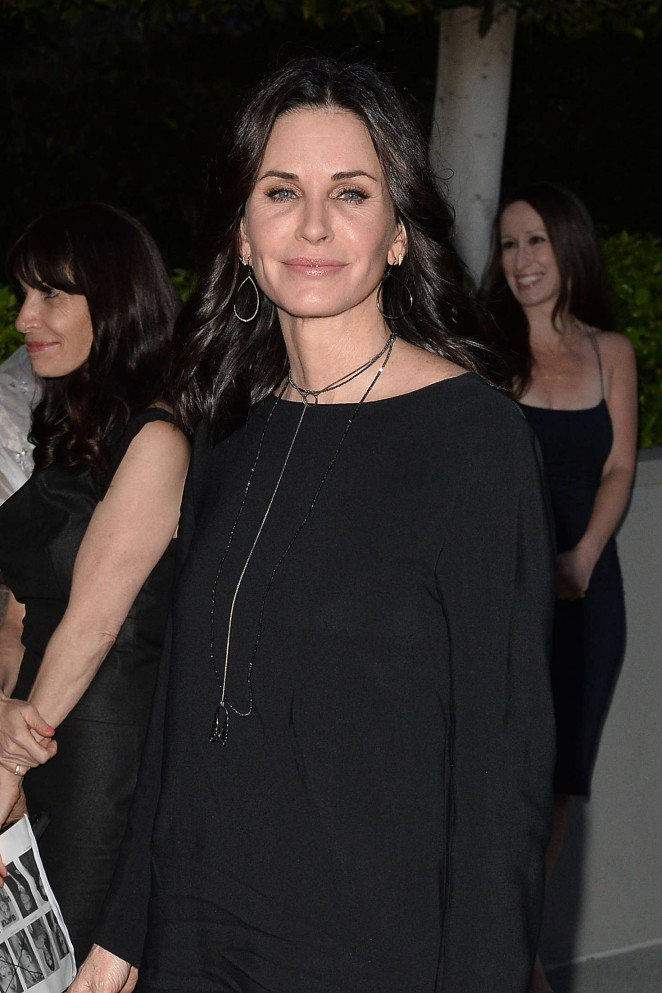 Courteney Cox Leaves a Party in Beverly HIlls