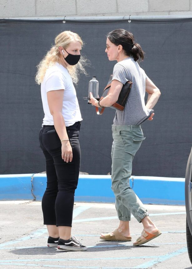 Courteney Cox - Out for a Yoga Class in Santa Monica